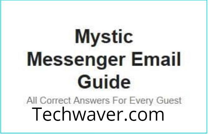 Mystic Messenger Emails