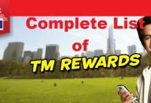 Photo of Complete List Tm Rewards