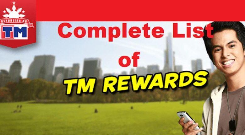 List Tm Rewards