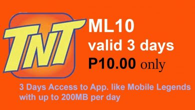 Photo of NEW ML10 (TNT) 3 Days Mobile Legends Promo