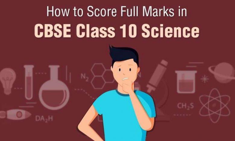 CBSE Class 10 Science: