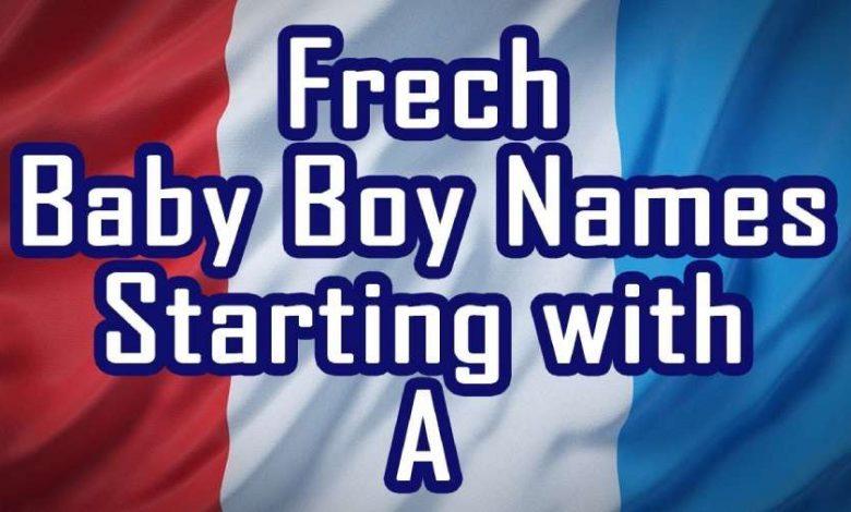 french boy names