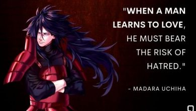 Photo of Best Madara Quotes List