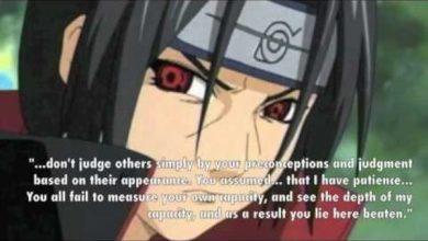 Photo of Itachi Uchiha's Life Quotes And Sayings
